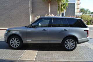 2013 Range Rover Hse Package Front & Rear Climate Vision Assist Prem.  Audio photo