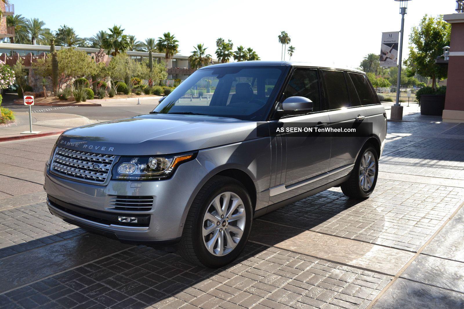 Range Rover 2013 Hse Specs
