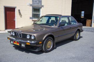 1984 Bmw 318i, ,  Rust,  Garage Kept,  5 Speed Manual,  122k photo