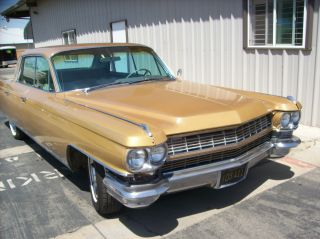1964 Cadillac Fleetwood 4dr Sd No Rust Ca.  Car $1 Fresno Ca photo