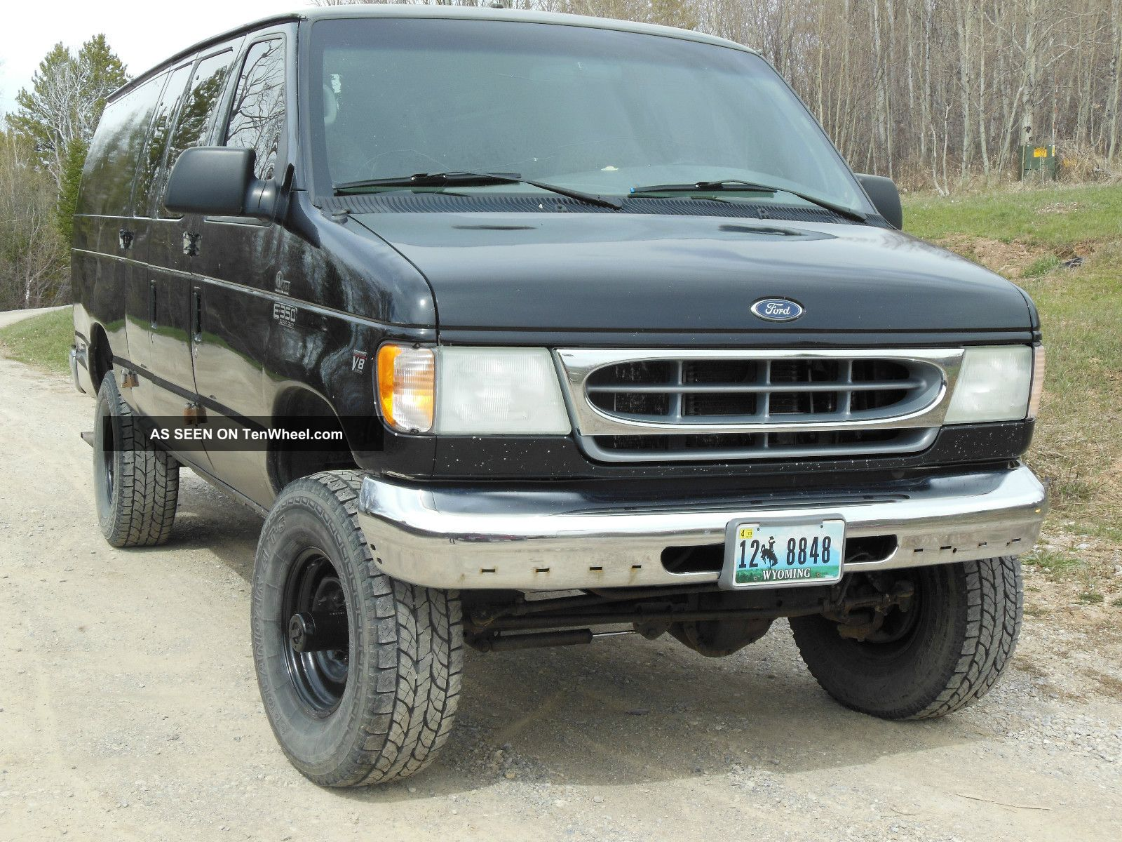 Quigley 2002 4x4 Ford E350 Superduty Van Rare 7  3