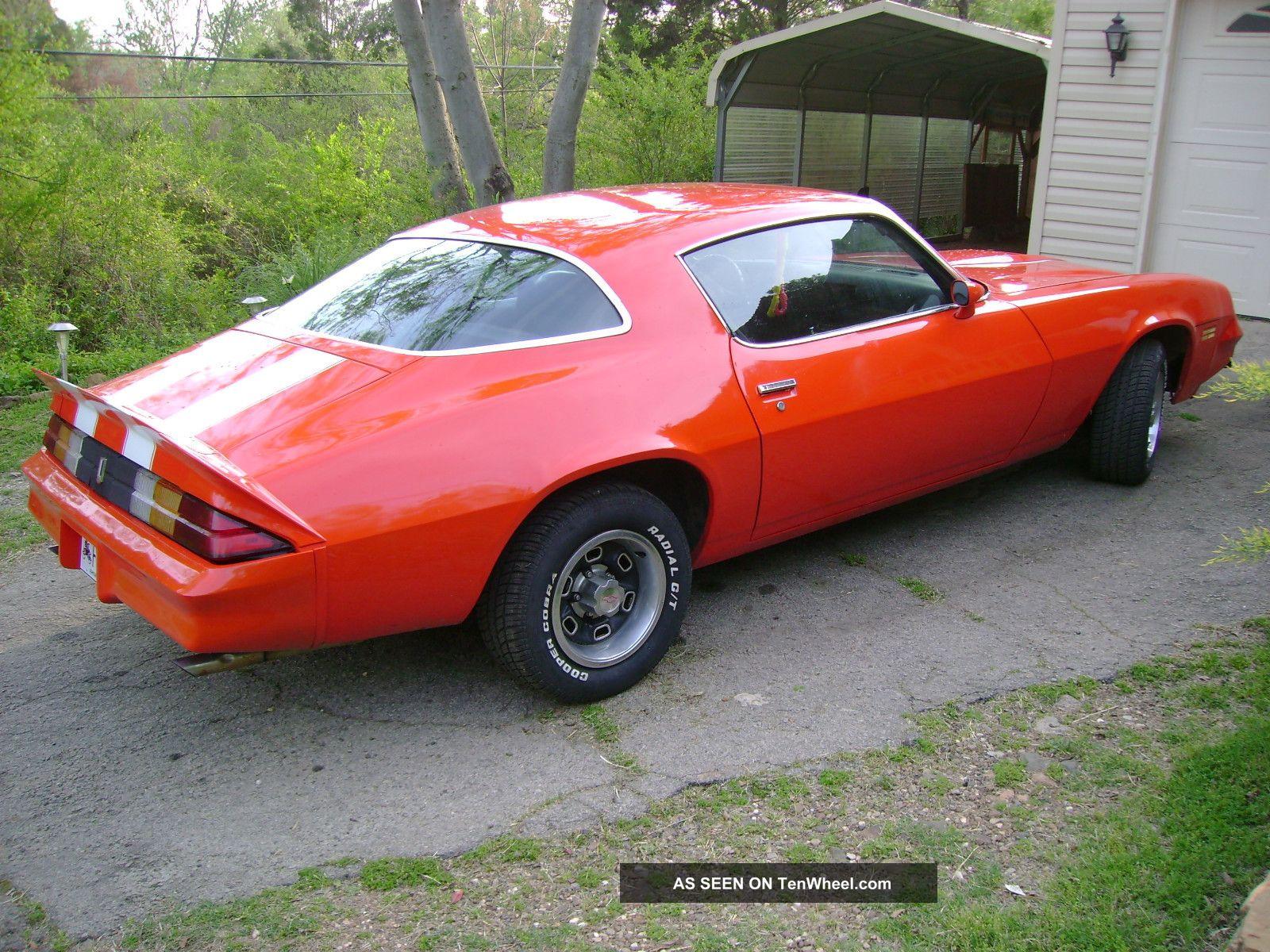 1978 Camaro Htf