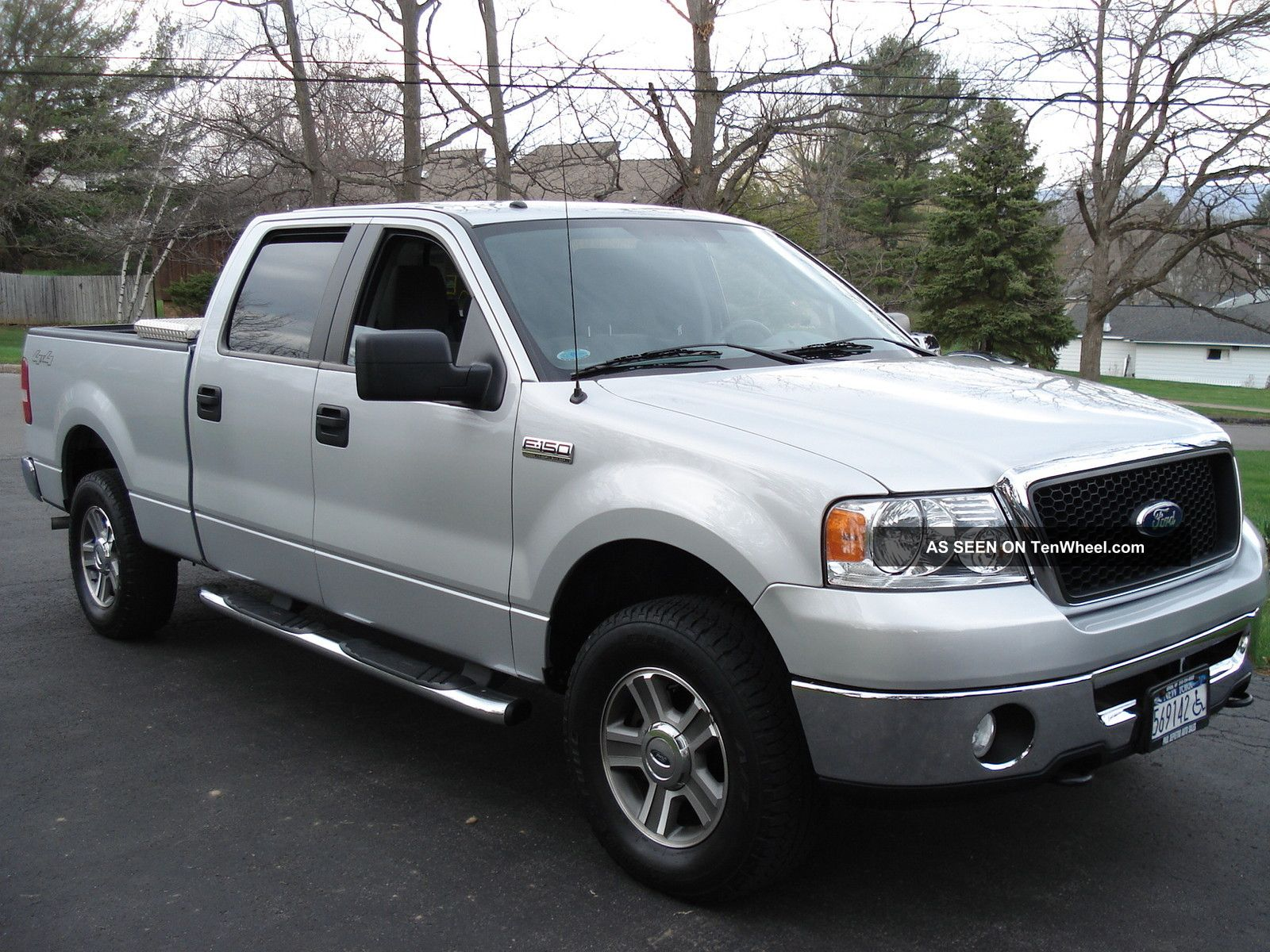 2007 Ford F 150 Xlt Extended Cab Pickup 4 Door 5 4l