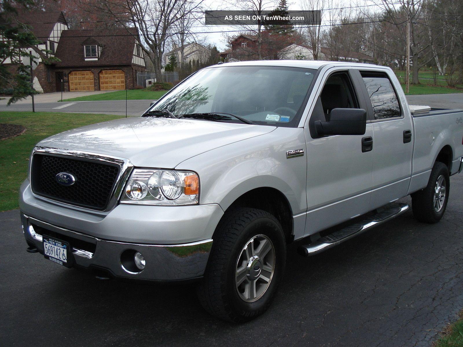 2007 ford f 150 xlt extended cab pickup 4 door 5 4l. Black Bedroom Furniture Sets. Home Design Ideas