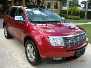 2007 Mkx Navi Pano Roof A / C & Chromes Michelins No Accidents photo