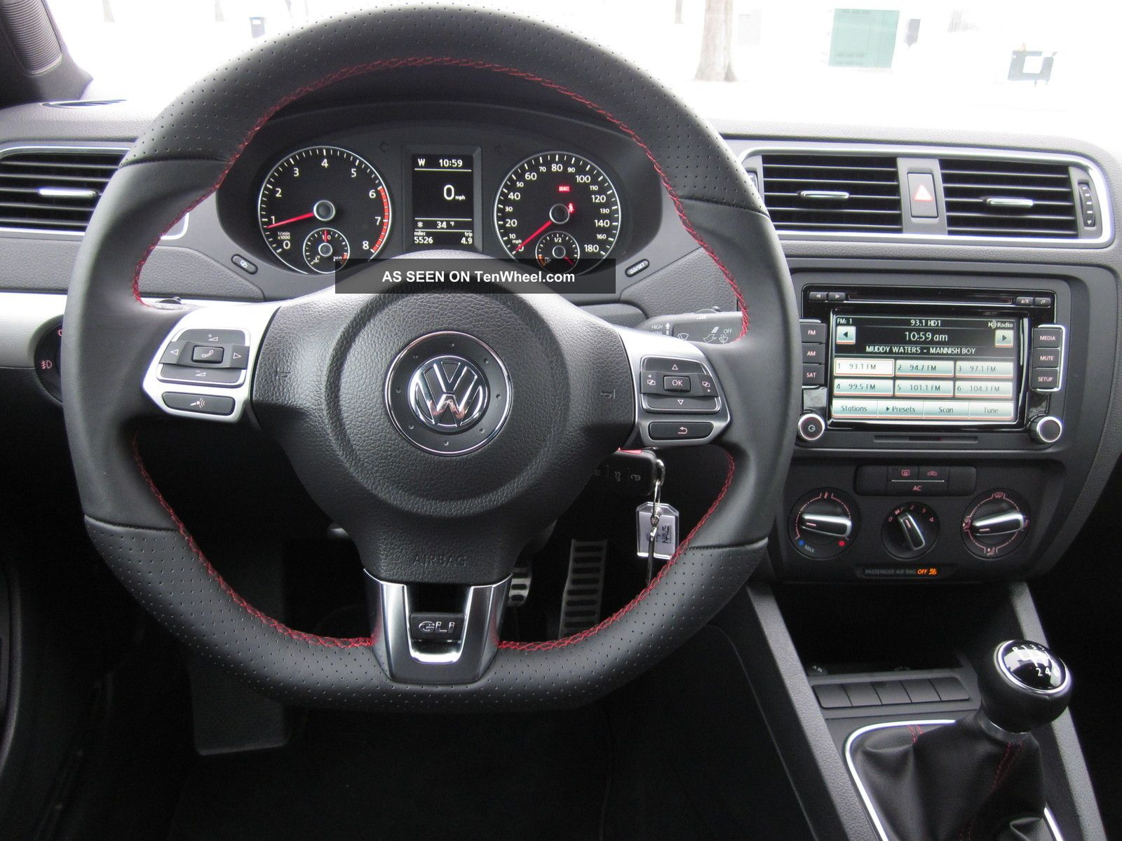 2012 Volkswagen Jetta Gli Sedan 4 - Door 2. 0l Four 4 ...
