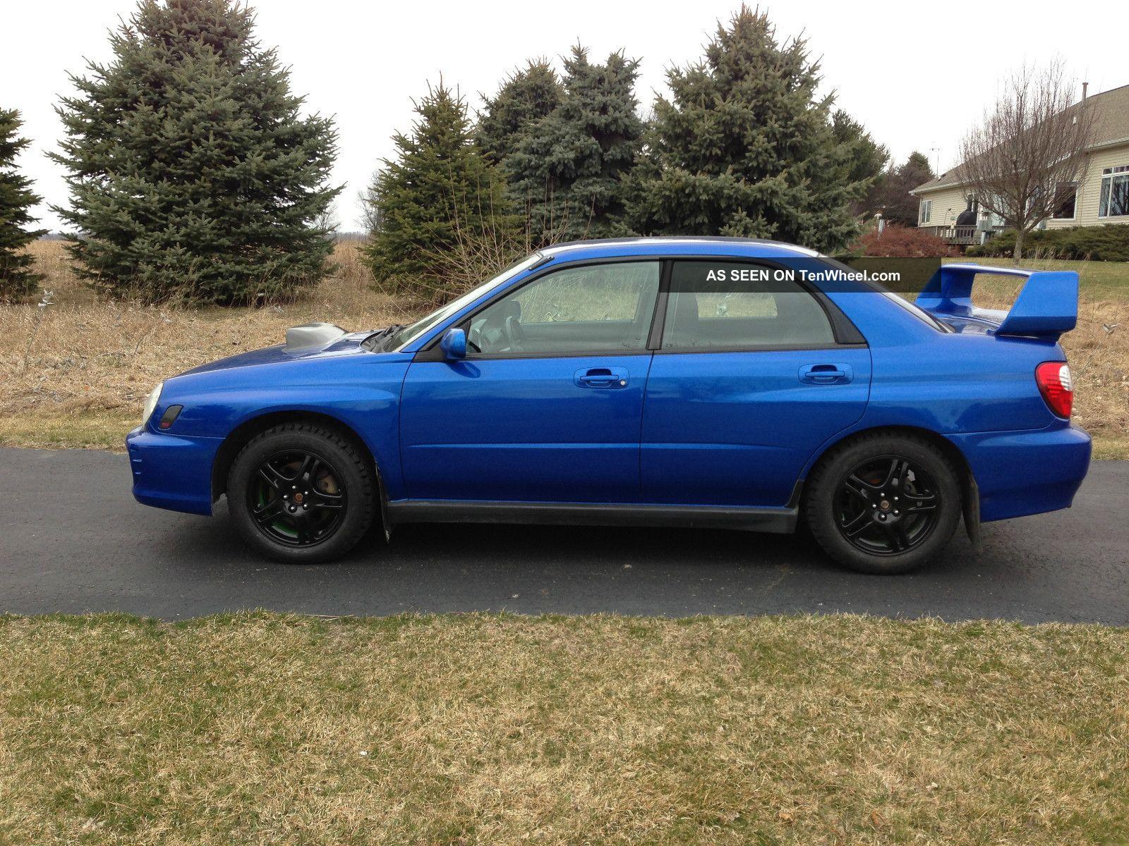 2002 Subaru Wrx Impreza 2 0t Impreza Sti Mods 2 0 Turbo