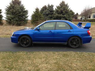2002 Subaru Wrx Impreza 2.  0t Impreza Sti Mods 2.  0 Turbo 2003 02 03 04 05 06 2.  0l photo