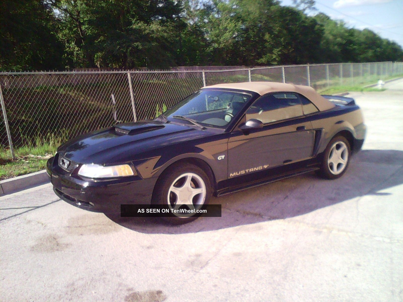 2000 Ford Mustang Gt Convertible 2 - Door 4. 6l