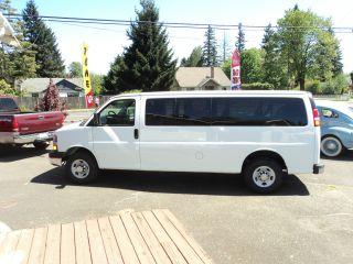2013 Express G3500 15 Passenger Van 1371miles Simply Below Wholesale photo