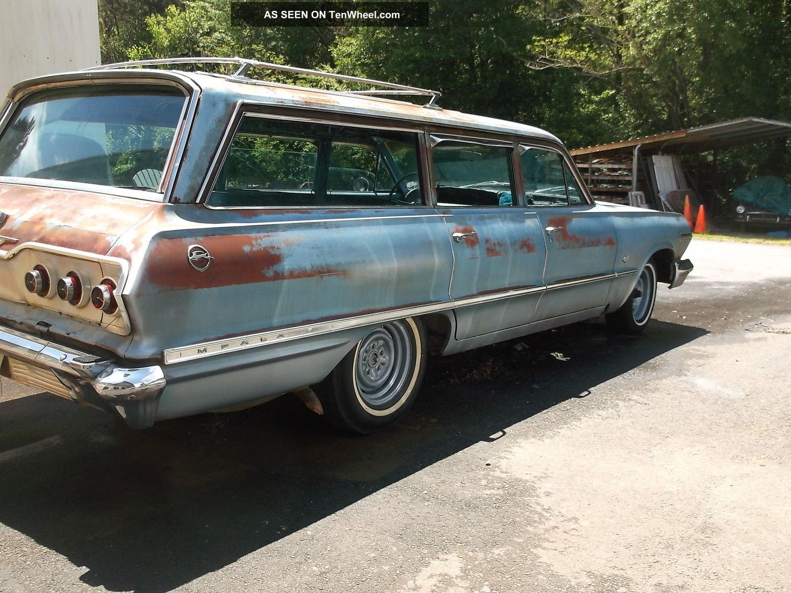 1963 chevrolet impala station wagon. Black Bedroom Furniture Sets. Home Design Ideas