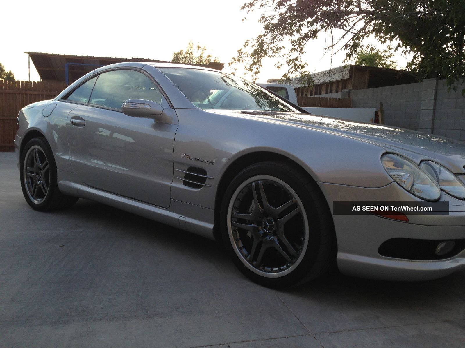 2005 mercedes benz sl55 amg base convertible 2 door 5 5l for Mercedes benz sl55 amg