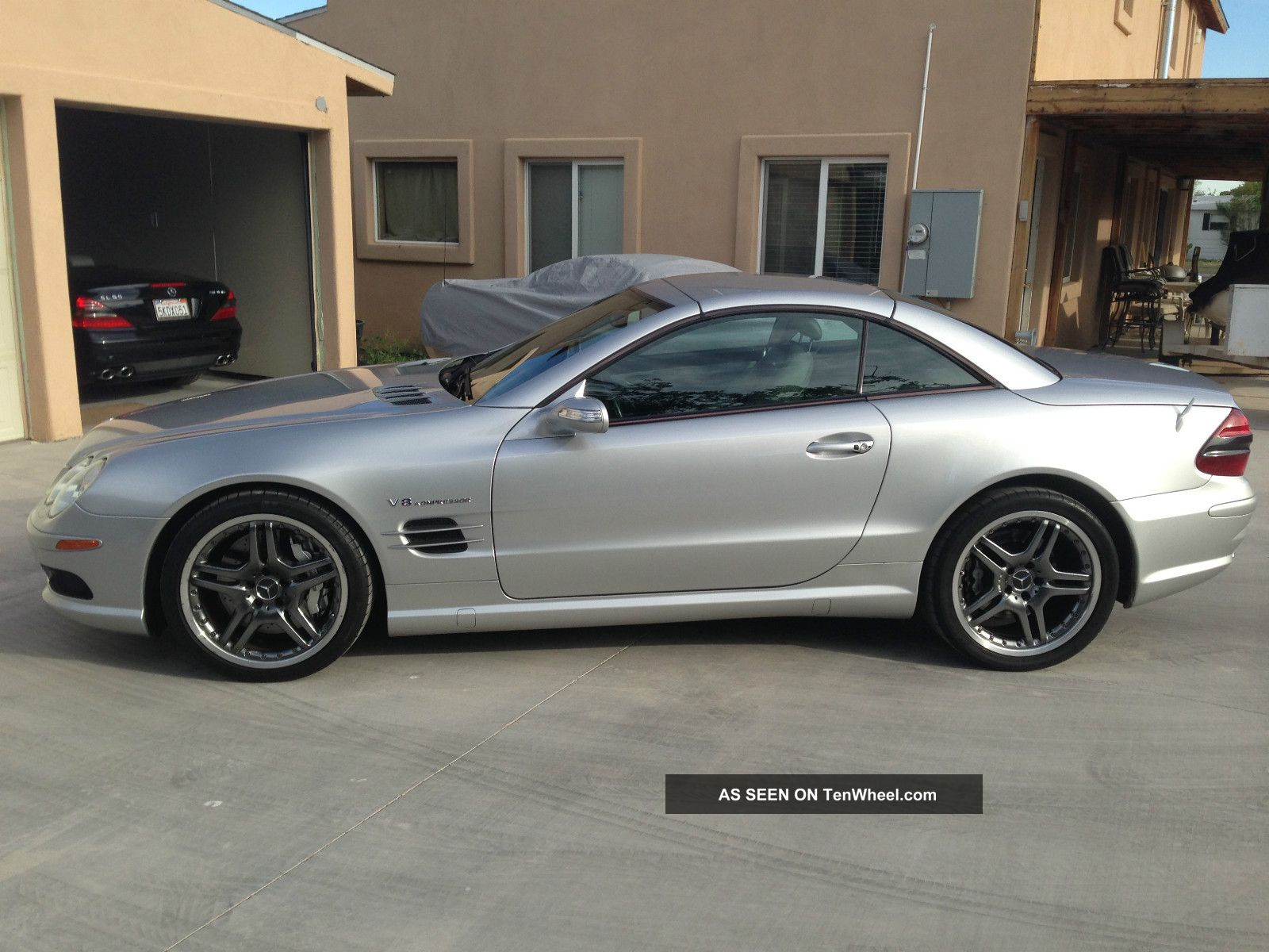 2005 mercedes benz sl55 amg base convertible 2 door 5 5l for 2005 mercedes benz sl55 amg