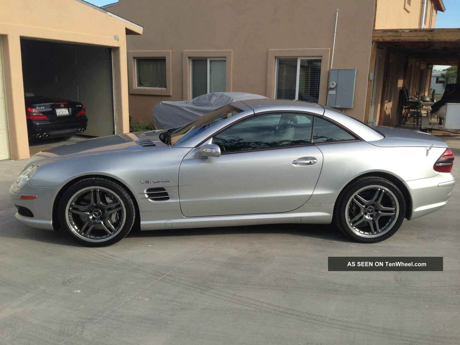 2005 mercedes benz sl55 amg base convertible 2 door 5 5l for Mercedes benz sl55 amg specs