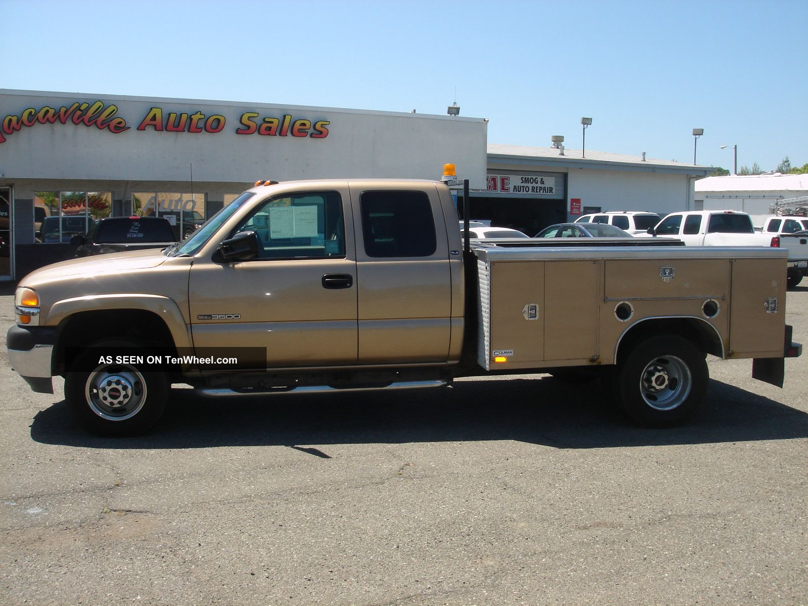 2001 Gmc Sierra 3500hd Dually 4x4 Extended Cab Utility