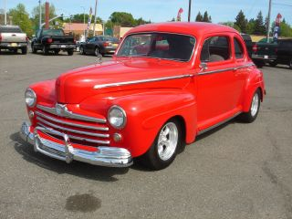 1947 Ford Deluxe Coupe - California Car - Rust - Great Cruiser photo