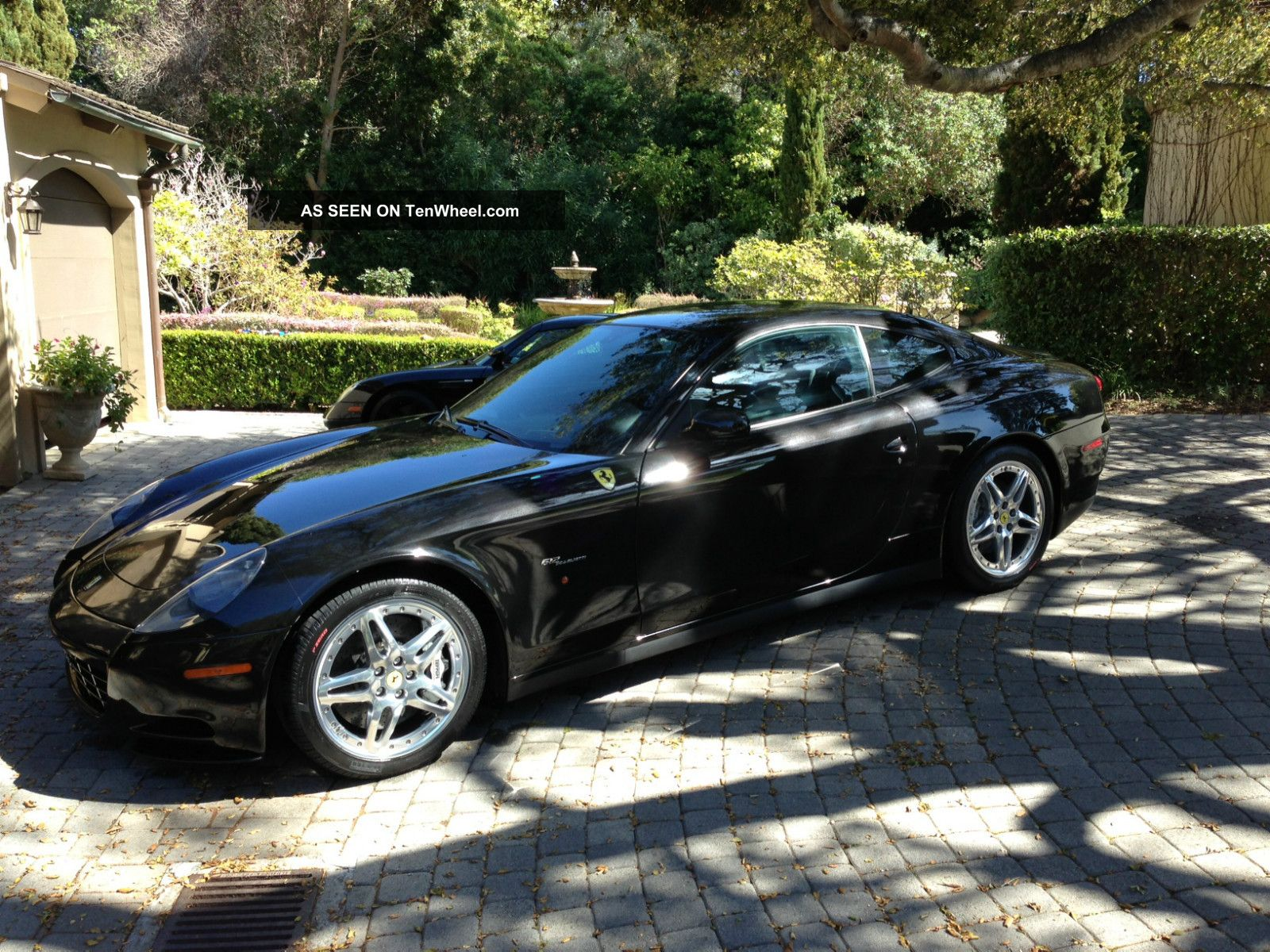 2007 Ferrari 612 Black / Black With Hgtc Package,  $27,  273 Upgrade 612 photo