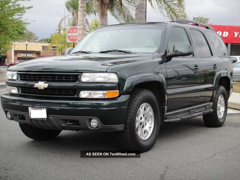 chevy tahoe z71 4x4 autos weblog. Black Bedroom Furniture Sets. Home Design Ideas