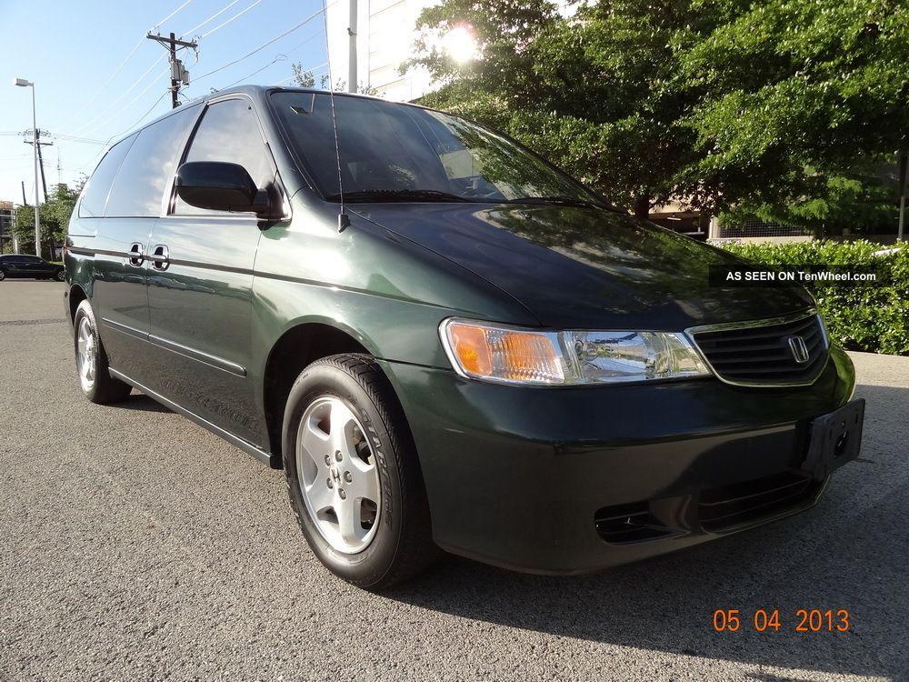 2001 Honda Odyssey Ex Mini Passenger Van 5   Door V6 3. 5l V   Tech Auto  Transmission