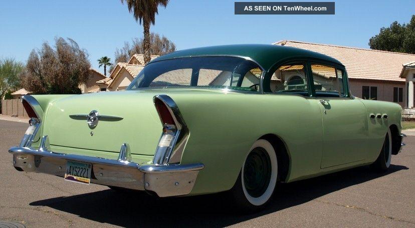 1956 buick special 2 door post rat rod
