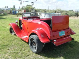 1932 Ford Full - Fender Rumble Seat Roadster photo