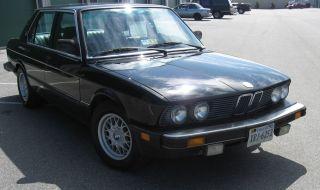 1987 Bmw 535i photo