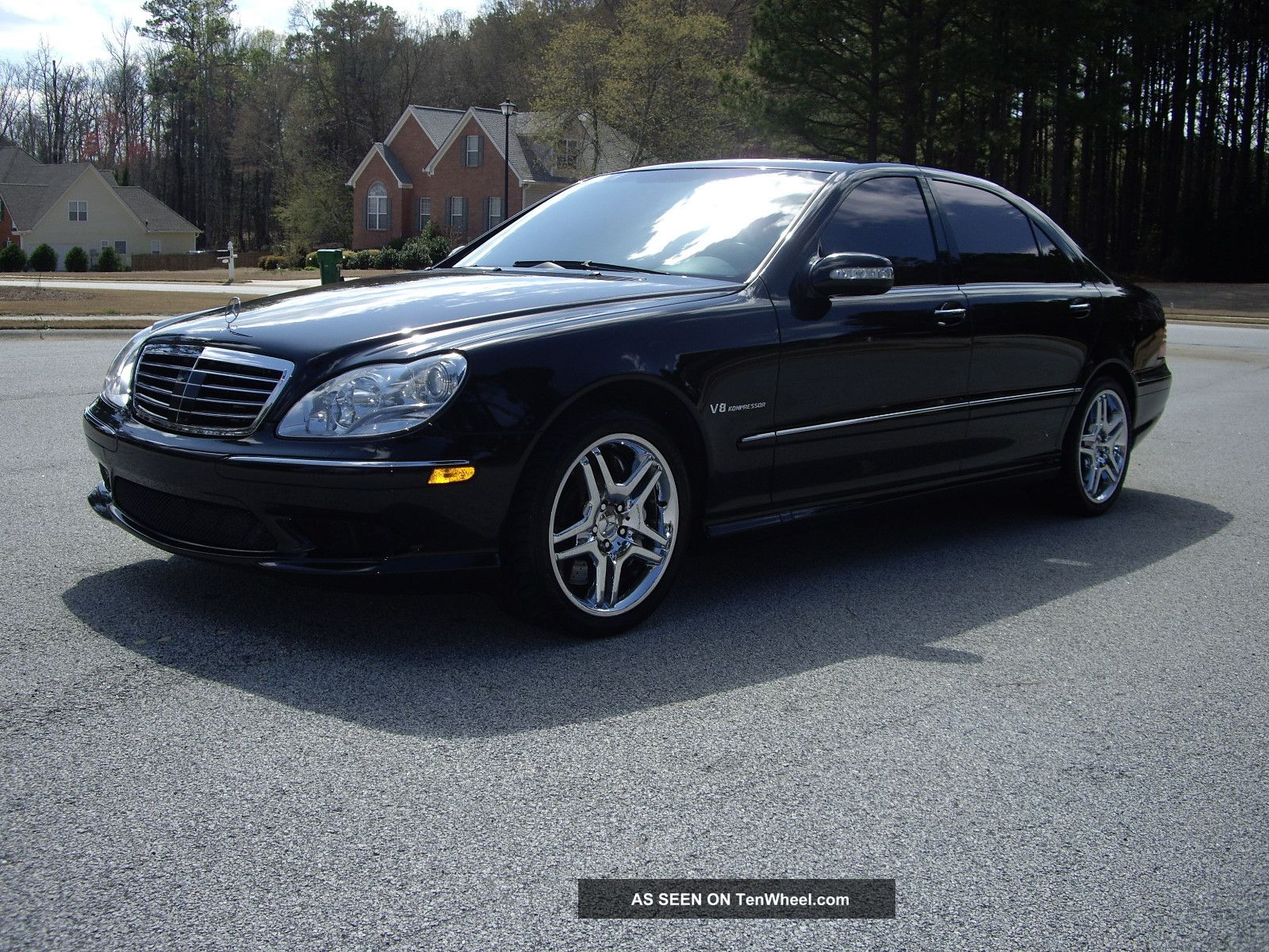 2005 mercedes benz s55 amg 4d sedan for Mercedes benz s55