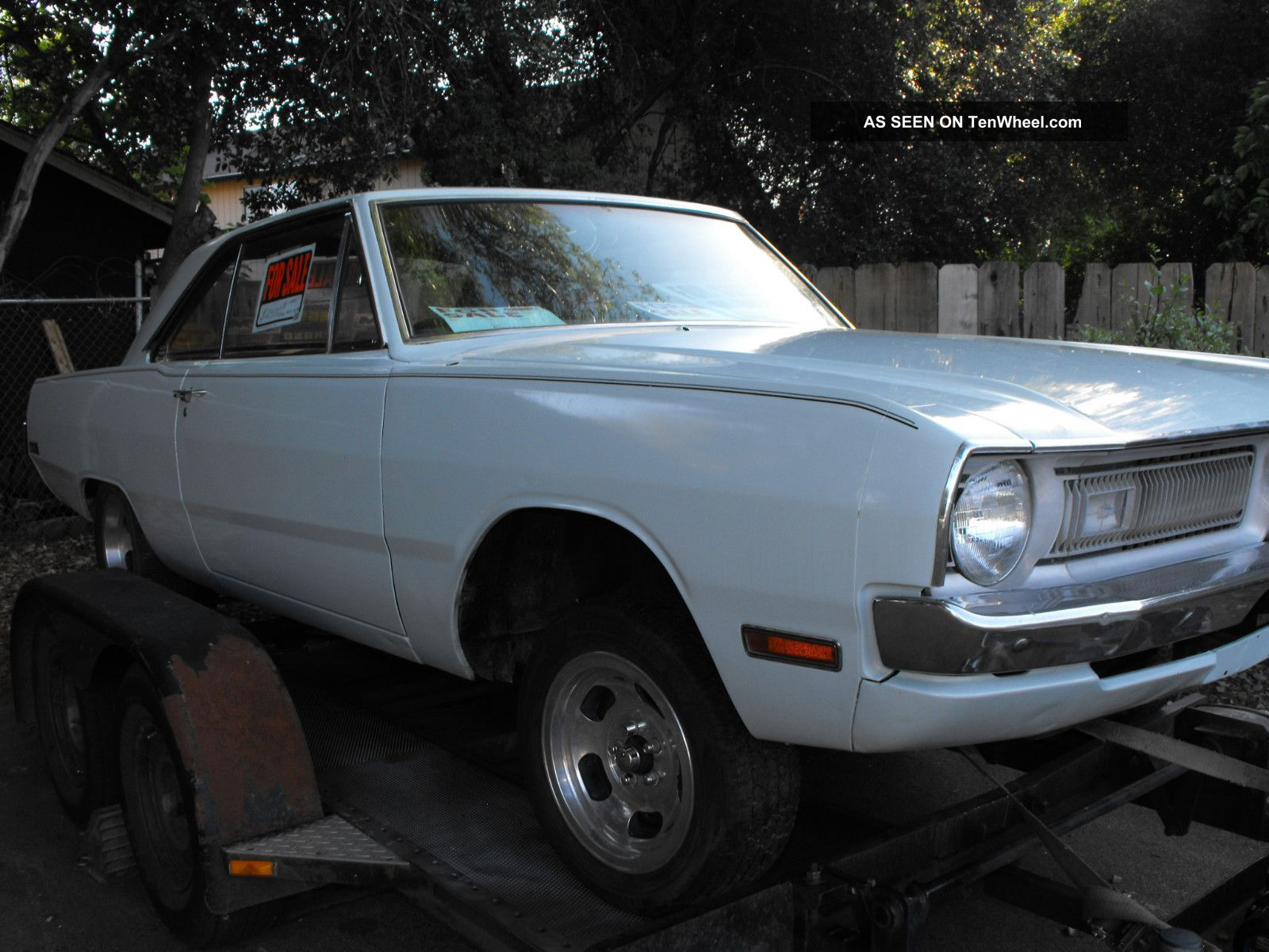 1970 Dodge Dart Drag Race / Street Machine California Rust Roller Project Dart photo