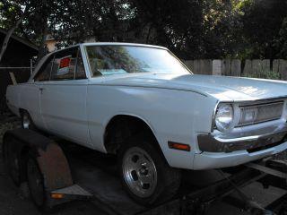 1970 Dodge Dart Drag Race / Street Machine California Rust Roller Project photo