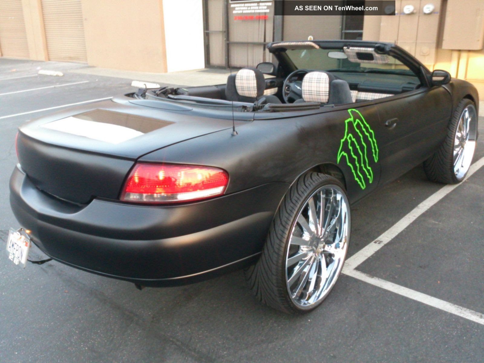 2005 chrysler sebring convertible showcar custom bentley. Black Bedroom Furniture Sets. Home Design Ideas