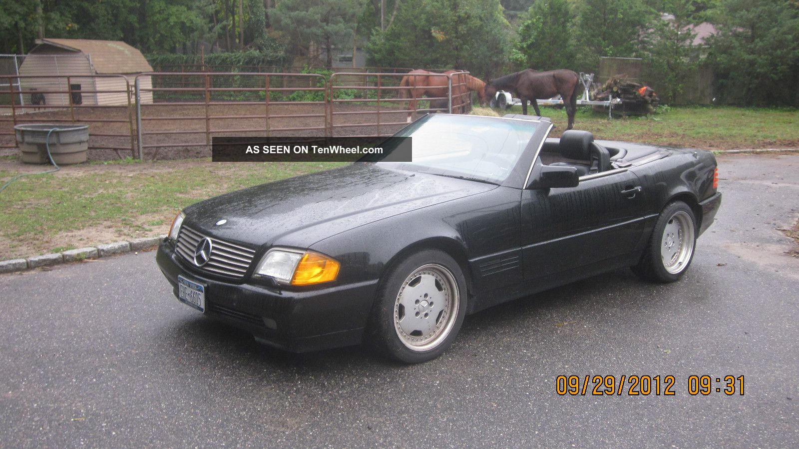 1994 Mercedes Benz Sl320 Base Convertible 2 Door 3 2l