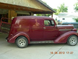 1936 Plymouth Panel Delivery,  Barn Find,  Running And Driving photo