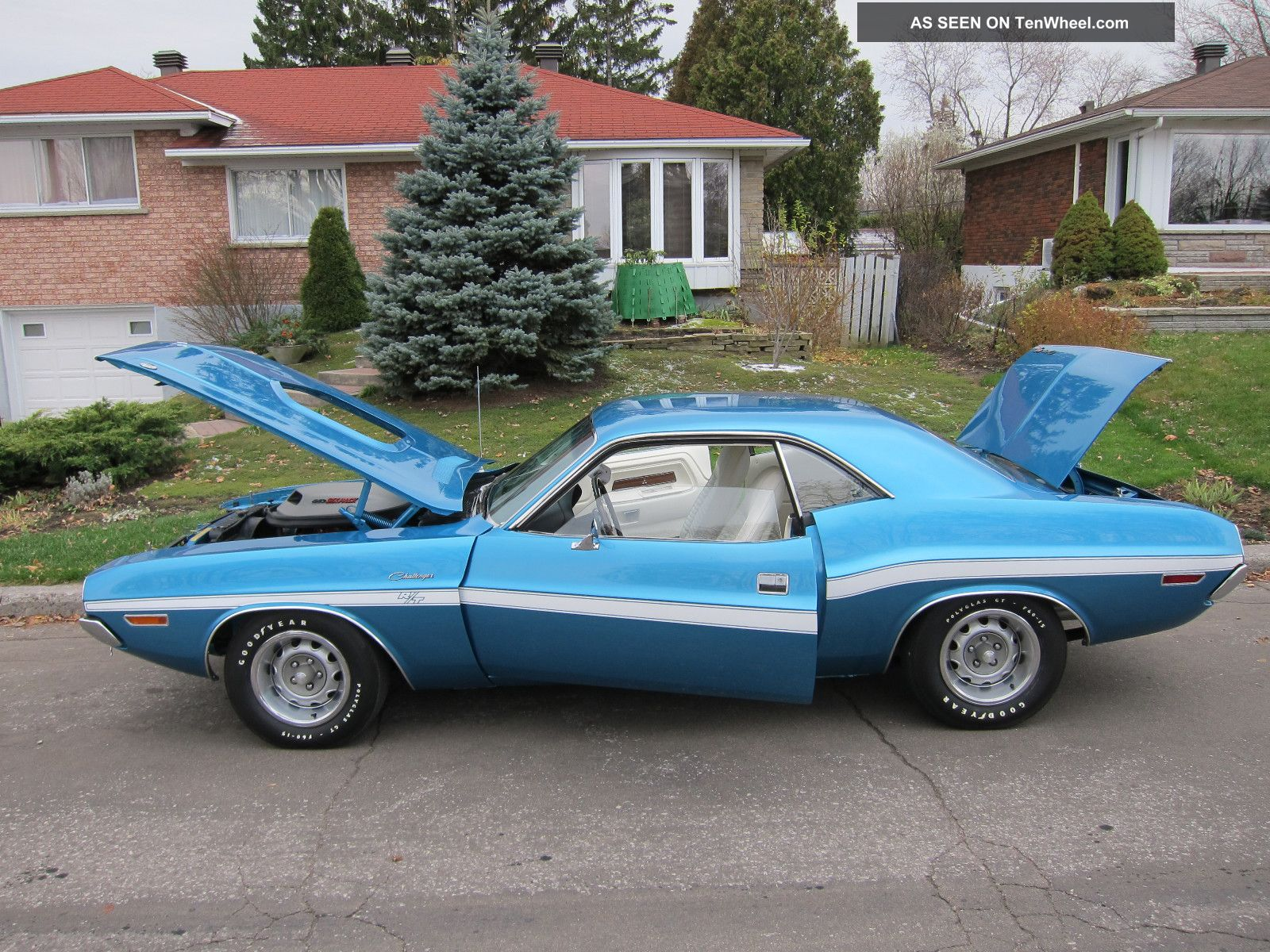 Documented 1970 Dodge Challenger Rt 440 - 6pack.  Live Videos Challenger photo