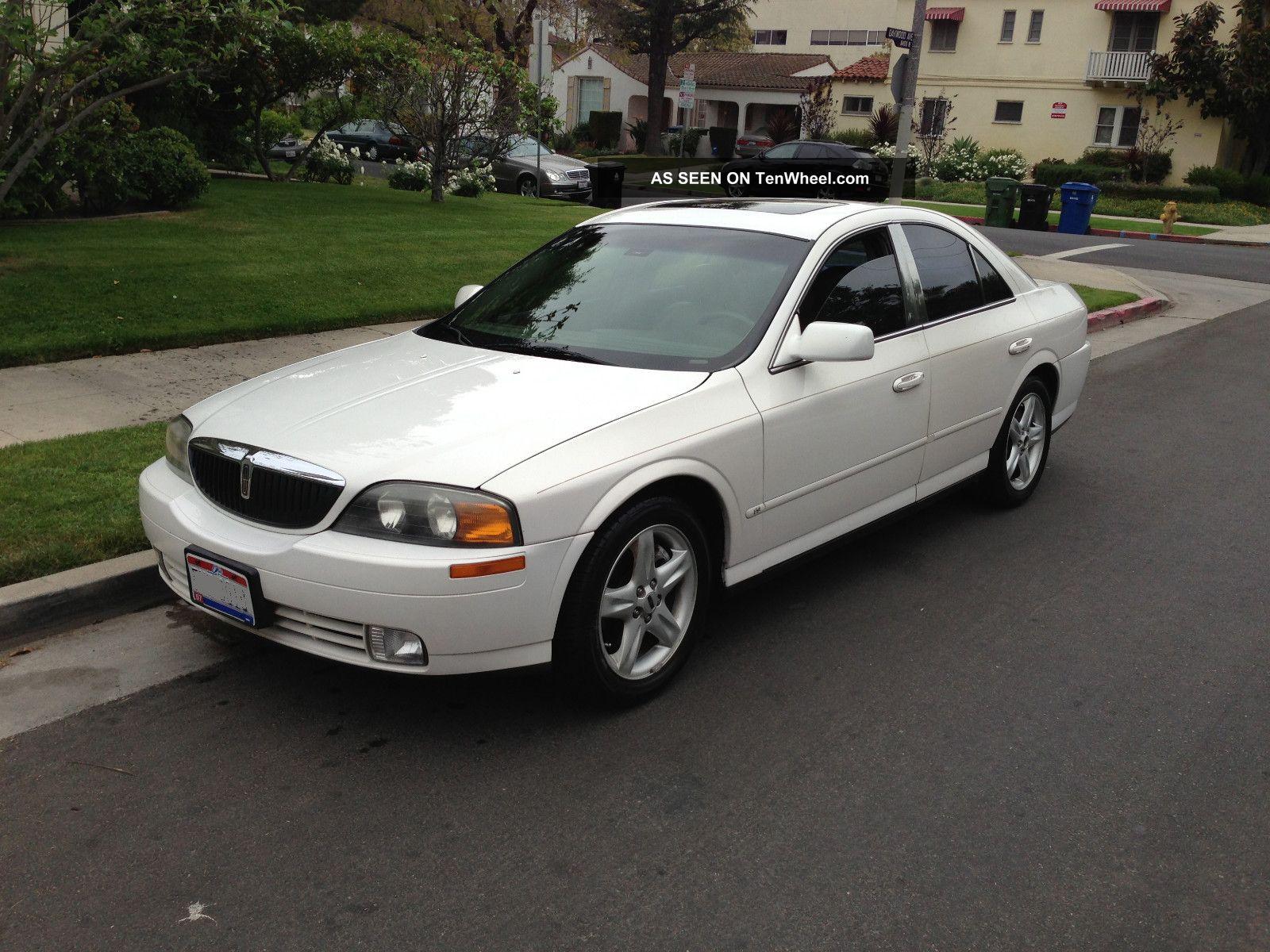 2000 Lincoln Ls Base Sedan 4 - Door 3.  0l LS photo