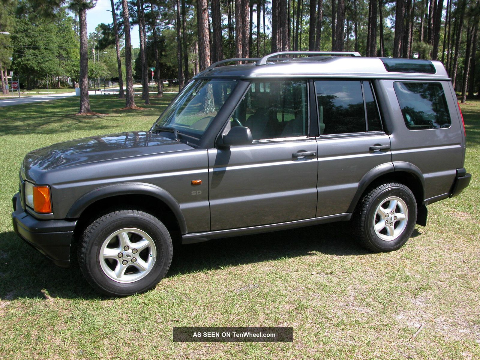 2002 land rover discovery series ii sd sport utility 4 door 4 0l. Black Bedroom Furniture Sets. Home Design Ideas