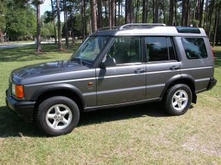 2002 Land Rover Discovery Series Ii Sd Sport Utility 4 - Door 4.  0l photo