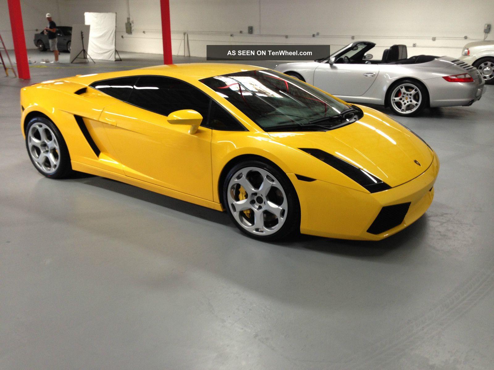 2006 Lamborghini Gallardo  Yellow  Serviced, Exhaust, Loud