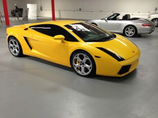 2006 Lamborghini Gallardo.  Yellow.  Serviced,  Exhaust,  Loud Stereo,  Clear Bonnet photo