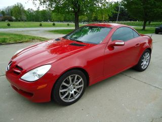 2007 Mercedes - Benz Slk350 Base Convertible 2 - Door 3.  5l photo