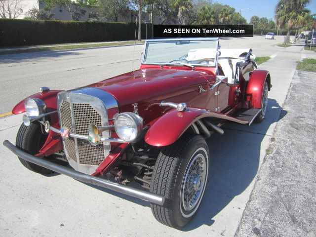 1982 Mercedes Benz Replica Exelent Cond.  Front Ford Engin Auto.  Transmition Replica/Kit Makes photo