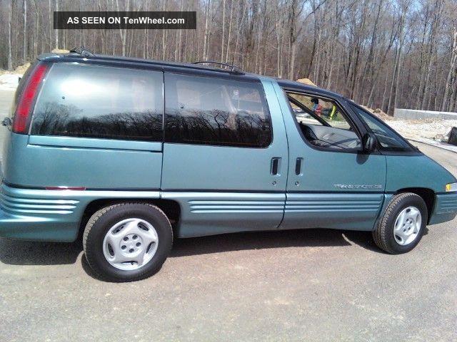 1993 Pontiac Trans Sport Base Mini Passenger Van 3 Door
