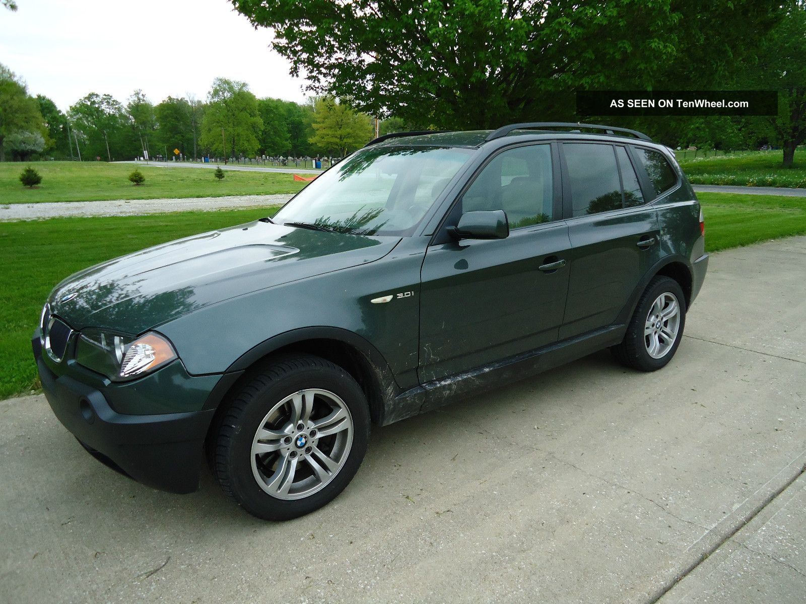 2005 bmw x3 3 0i sport utility 4 door 3 0l. Black Bedroom Furniture Sets. Home Design Ideas