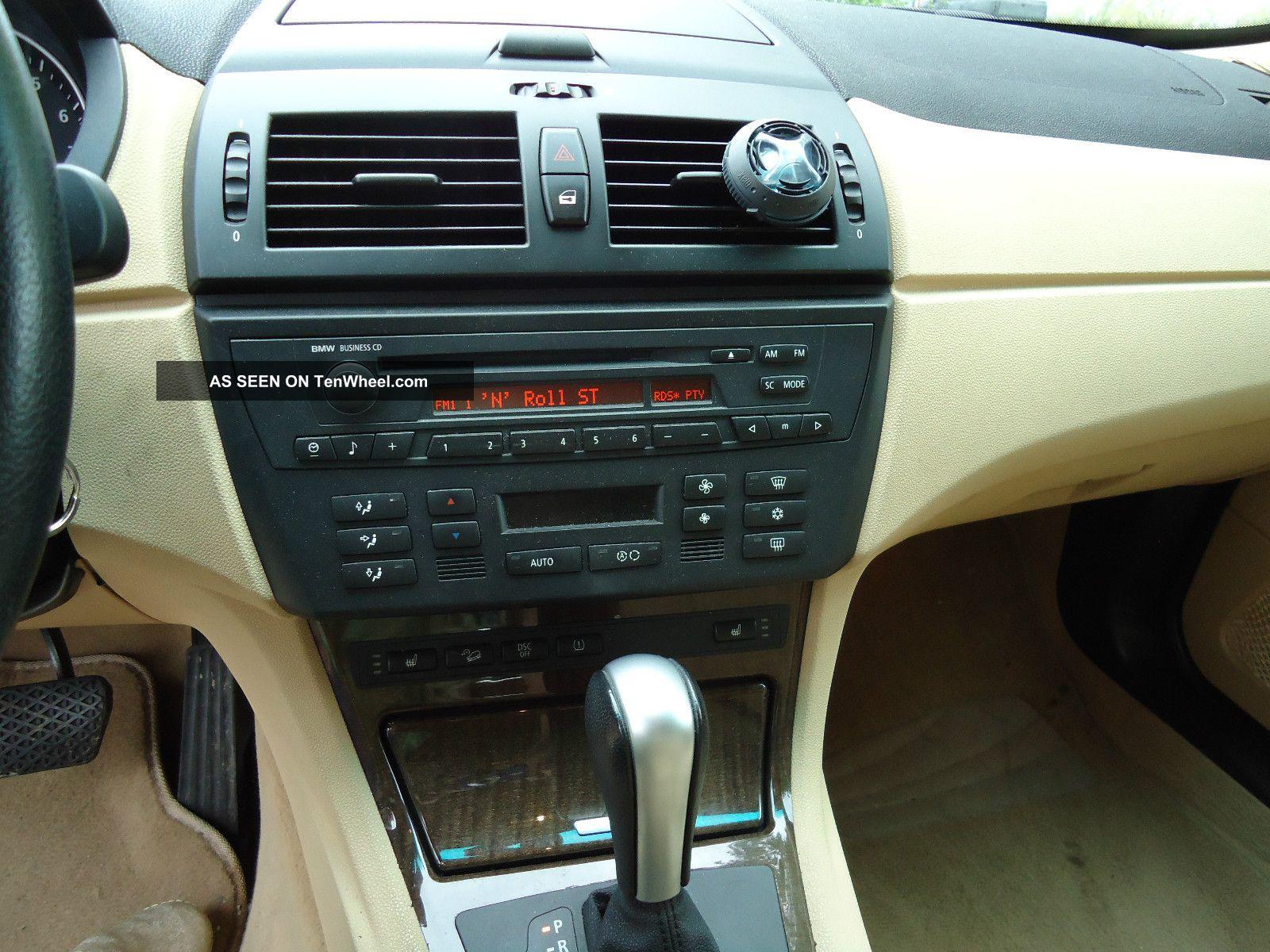 2005 Bmw X3 3. 0i Sport Utility 4 - Door 3. 0l