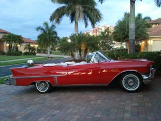 1957 Cadillac Convertible photo