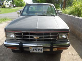 1987 Chevrolet S10 Base Standard Cab Pickup 2 - Door 2.  8l photo