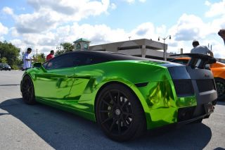 2008 Lamborghini Gallardo Chrome Green Bicolore E - Gear - Fabspeed Exhaust photo