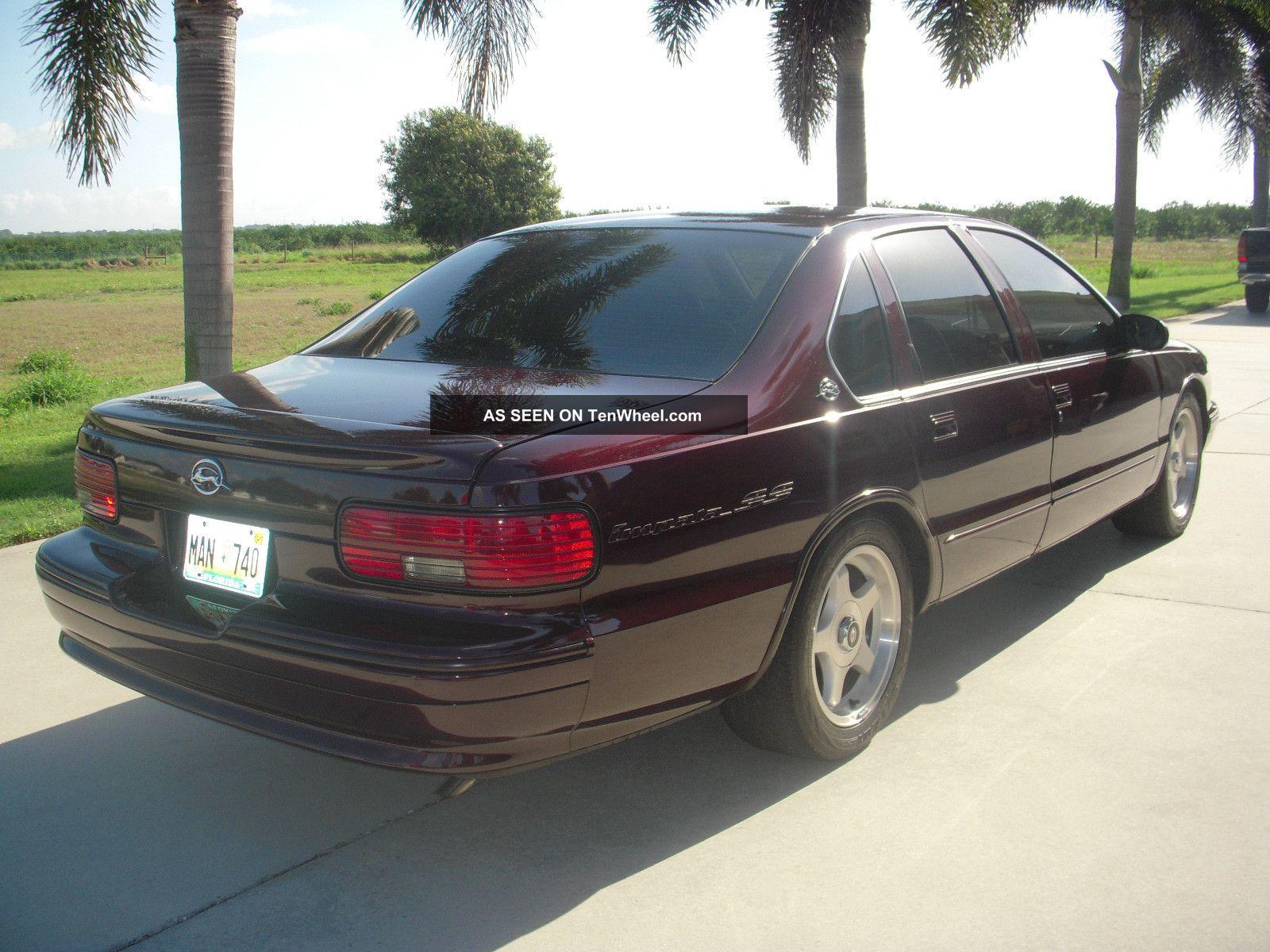 1996 chevrolet impala ss sedan 4 door 5 7l. Black Bedroom Furniture Sets. Home Design Ideas