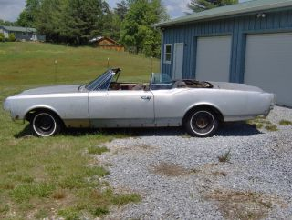 1965 Olds Starfire Convertible - - Project,  Rare Car,  Diamond In The Rough,  425 V8 photo