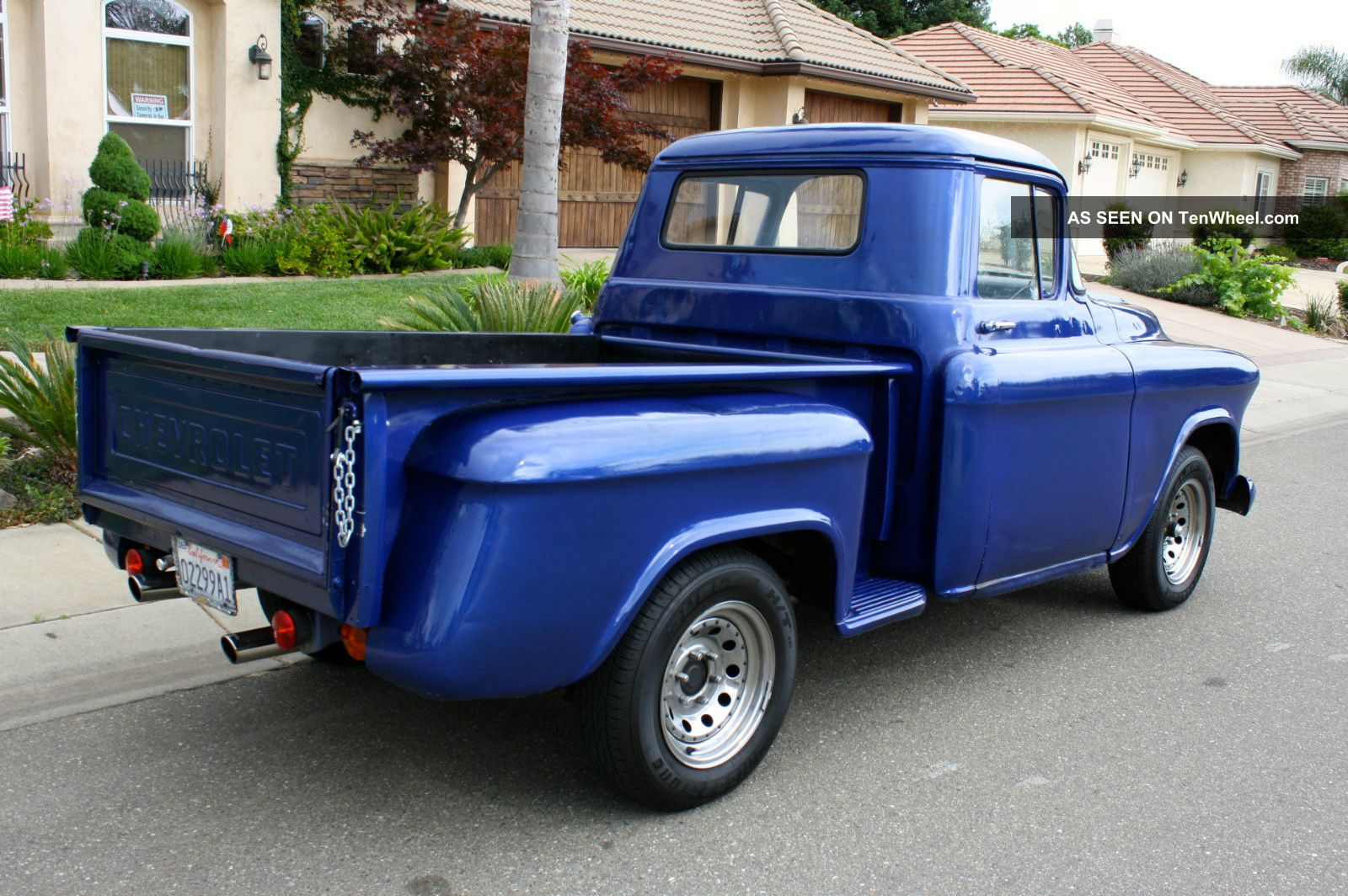 1956 Chevy Stepside Pickup For Sale Project