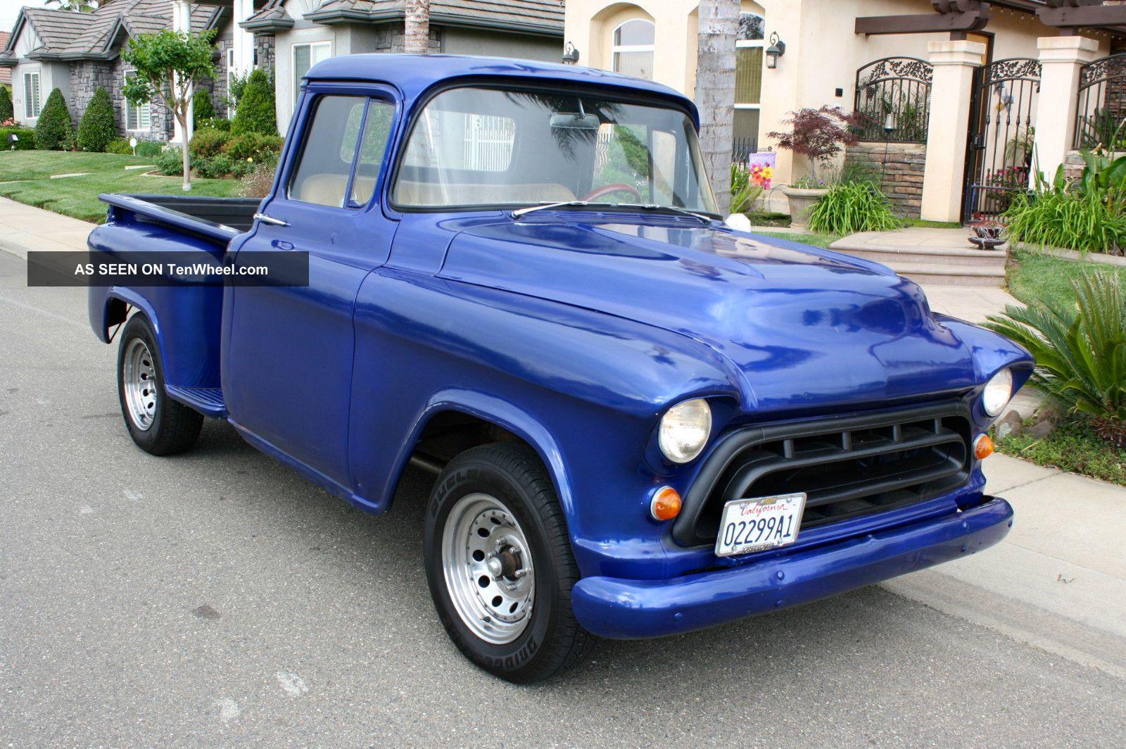 1957 Chevrolet Stepside Pickup - Short Bed - Hot Rod ...